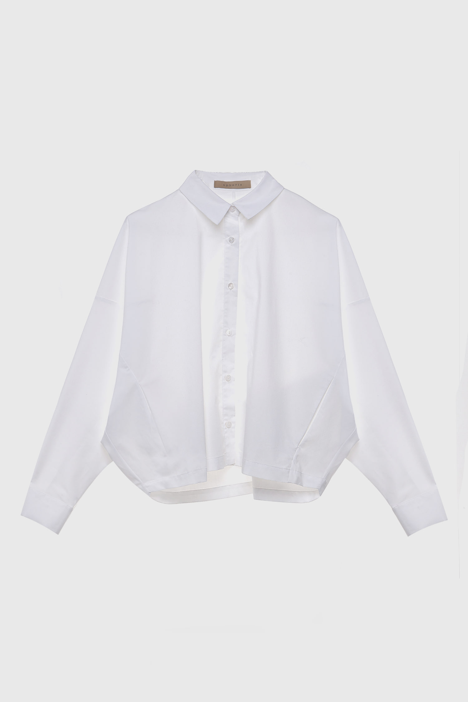 VOLUME SHIRT WHITE