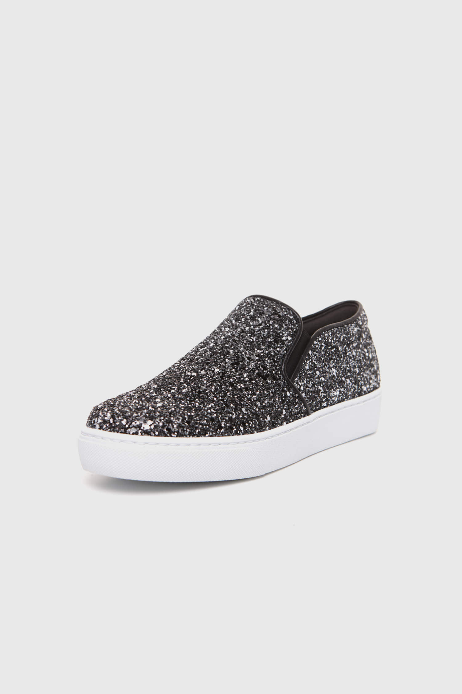 SHINING SLIP-ON BLACK