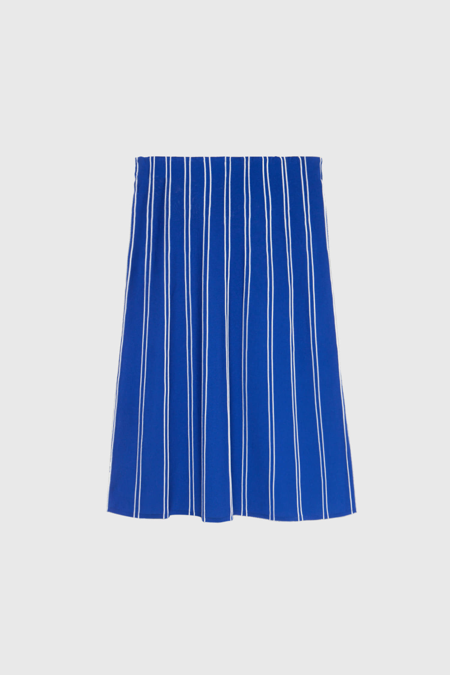 LINE SKIRT COBALT BLUE